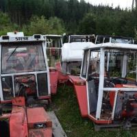 Steyr Traktor Kabine
