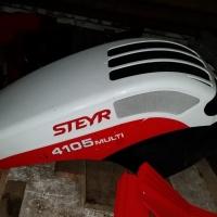 Verkaufe: Motorhaube Steyr MULTI - guter Zutsand